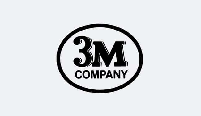 Evolution of the 3M Logo Design - 1950