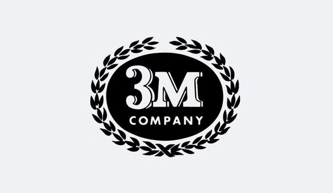 Evolution of the 3M Logo - 1954 IV