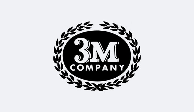 Evolution of the 3M Logo - 1955 I