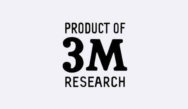 Evolution of the 3M Logo - 1955 II