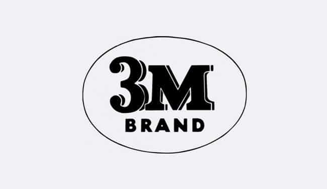 Evolution of the 3M Logo Design - 1957