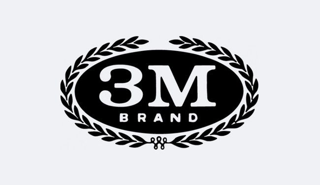 Evolution 3M Logo Design 1958