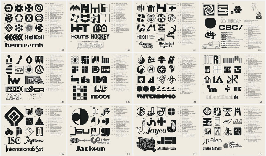 World of Logotypes book. Trademark Encyclopedia