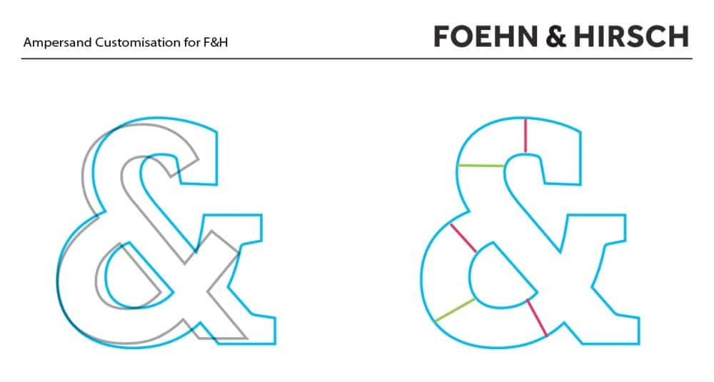 Ampersand Customisation 2 for F&H Desigend by The Logo Smith