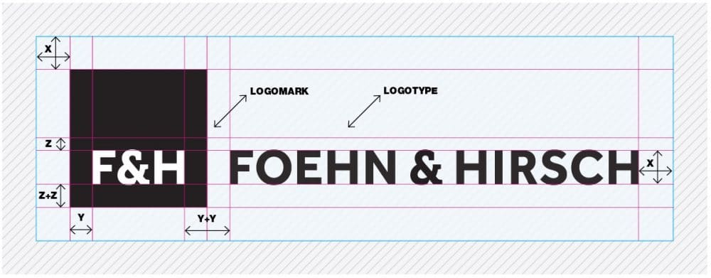 Foehn & Hirsch Logo Designed by The Logo Smith