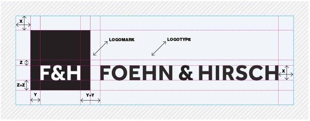 Foehn & Hirsch Logo Designed by The Logo Smith