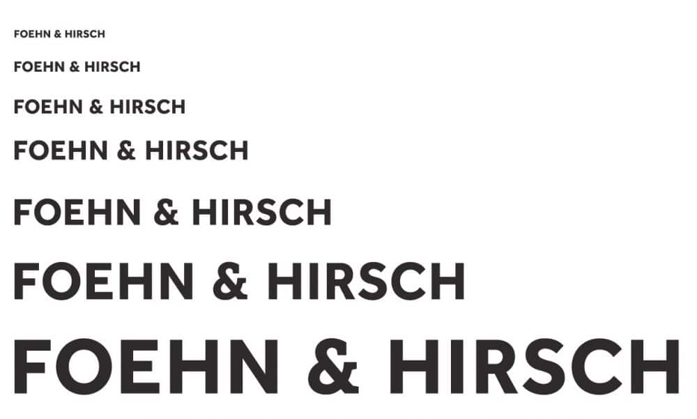 Foehn and Hirsch Logo Mark Desigend by The Logo Smith