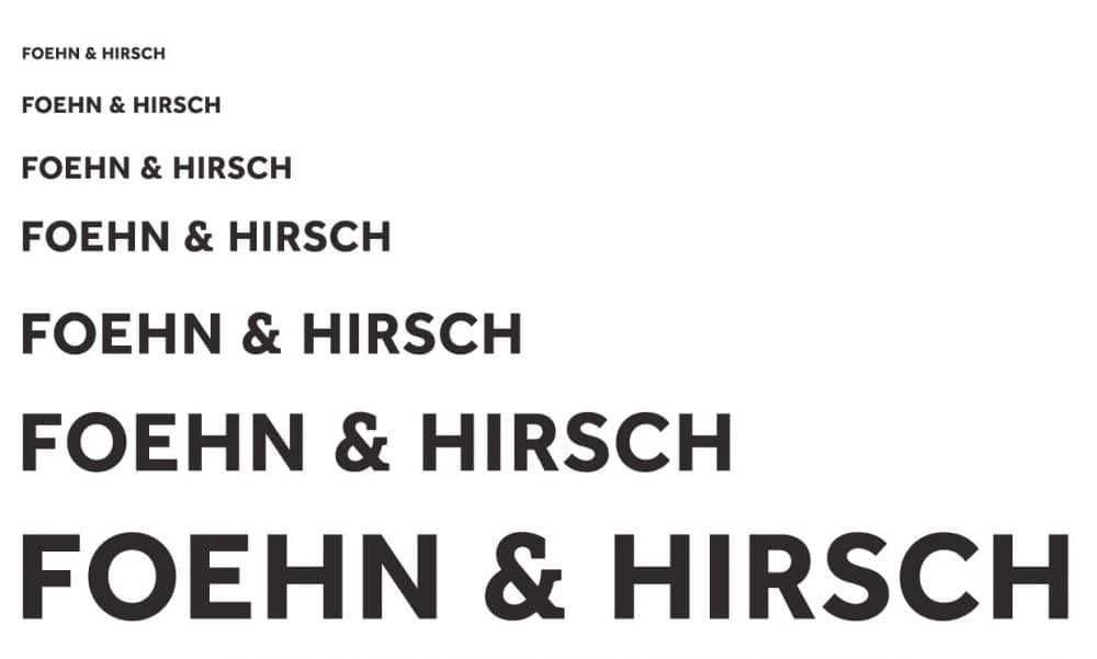 Foehn and Hirsch Logo Mark Desigend by The Logo Smith
