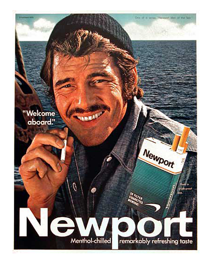 Newport Cigarette Vintage Advert