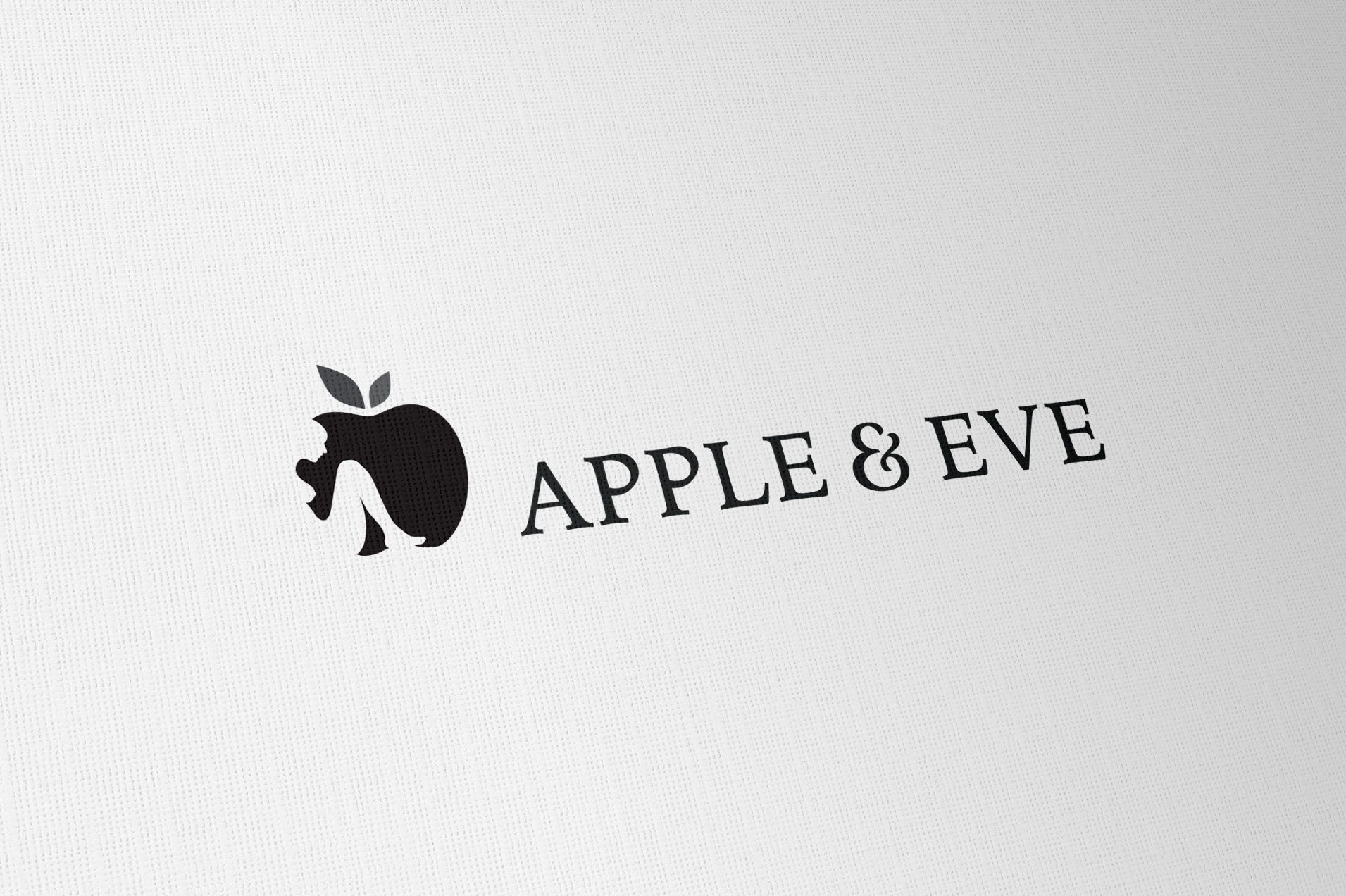 Apple & Eve Logo Designed By The Logo Smith