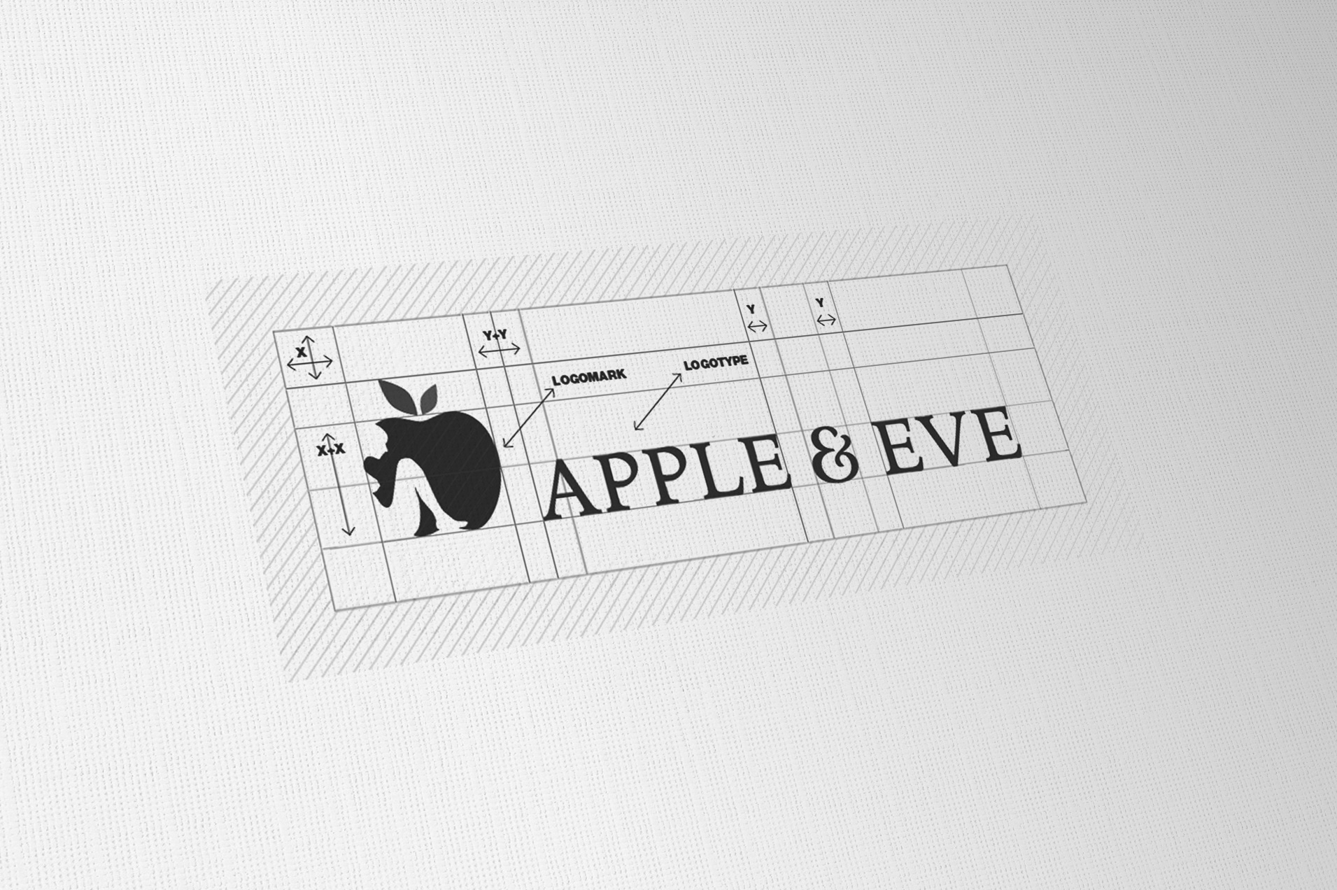 Apple & Eve Logo Designed By The Logo Smith