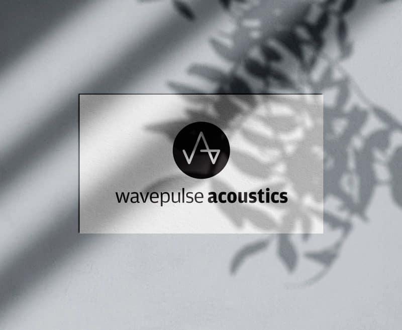 Wavepulse Acoustics Logo Designed by Freelance Logo Designer The Logo Smith