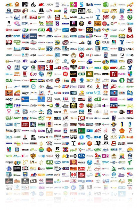 9000 television channel logos amp idents by tanner cotant
