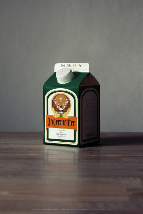 Ecohols - Alcohol Packaged In TetraPaks By Jørn