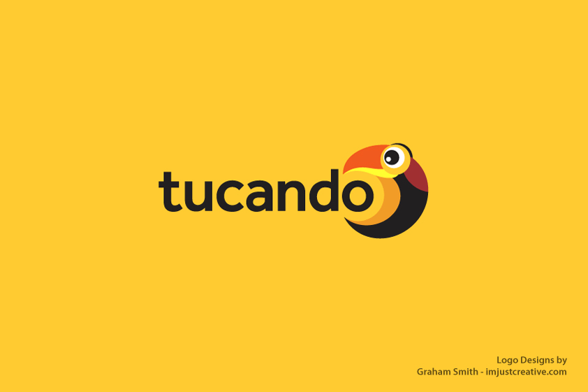 tucando-logo-design-orange-bg