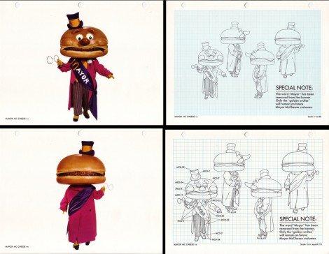 Vintage 1970's McDonaldland Brand Specification Manual