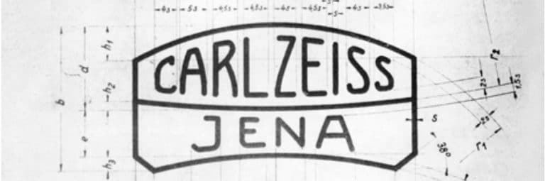 Vintage Carl Zeiss Jenna Logo Specification Sheet