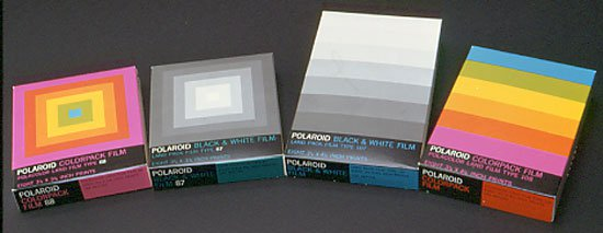 Original Polaroid Branding and Packaging by Paul Giambarba