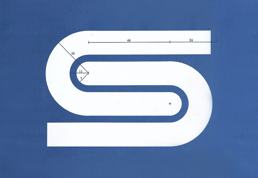 British Steel logo Designed by David Gentleman
