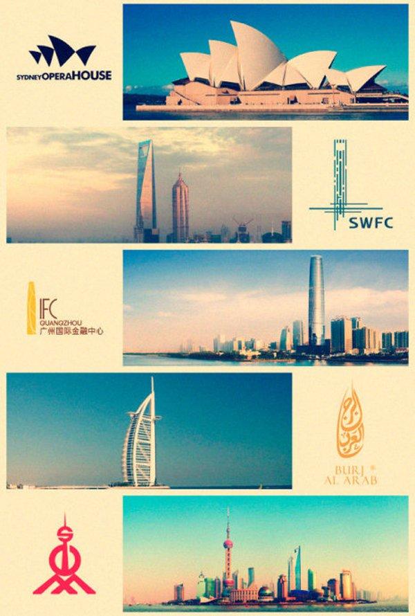 Landmark Building Logos