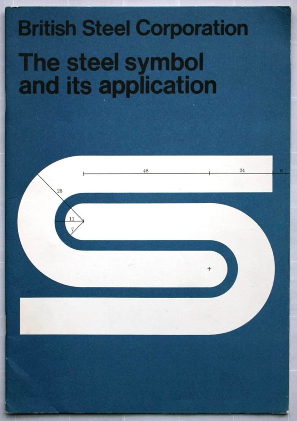 British Steel Corporation Logo Guidelines and Steel Symbol and its application