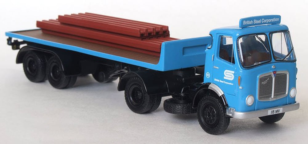 British Steel Model Lorry