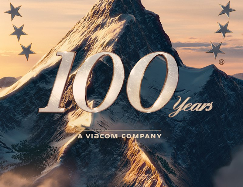 paramount 100 years a viacom company logo - photo #21
