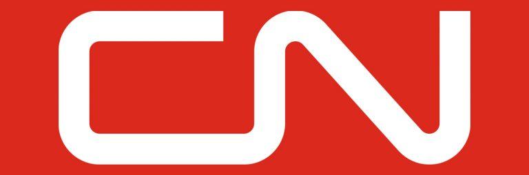 Canadian National Railway Company CN Logo Designed by Allan Fleming