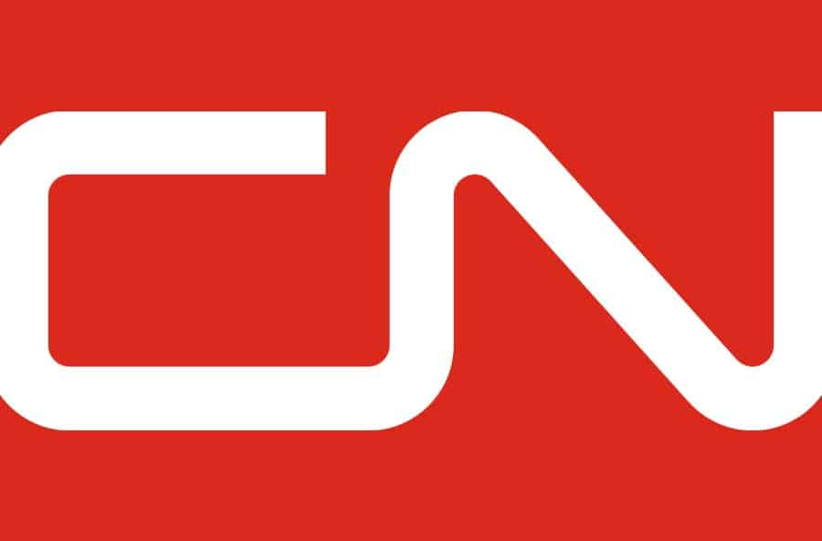Canadian National Railway Company CN Logo Designed by Allan Fleming