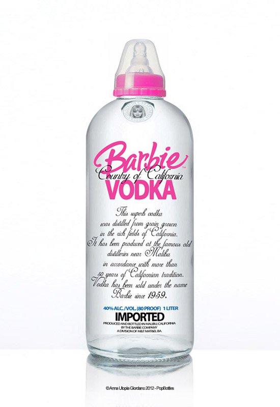 PopBottles - Booze & Baby Mash-Up by Anna Utopia Giordano