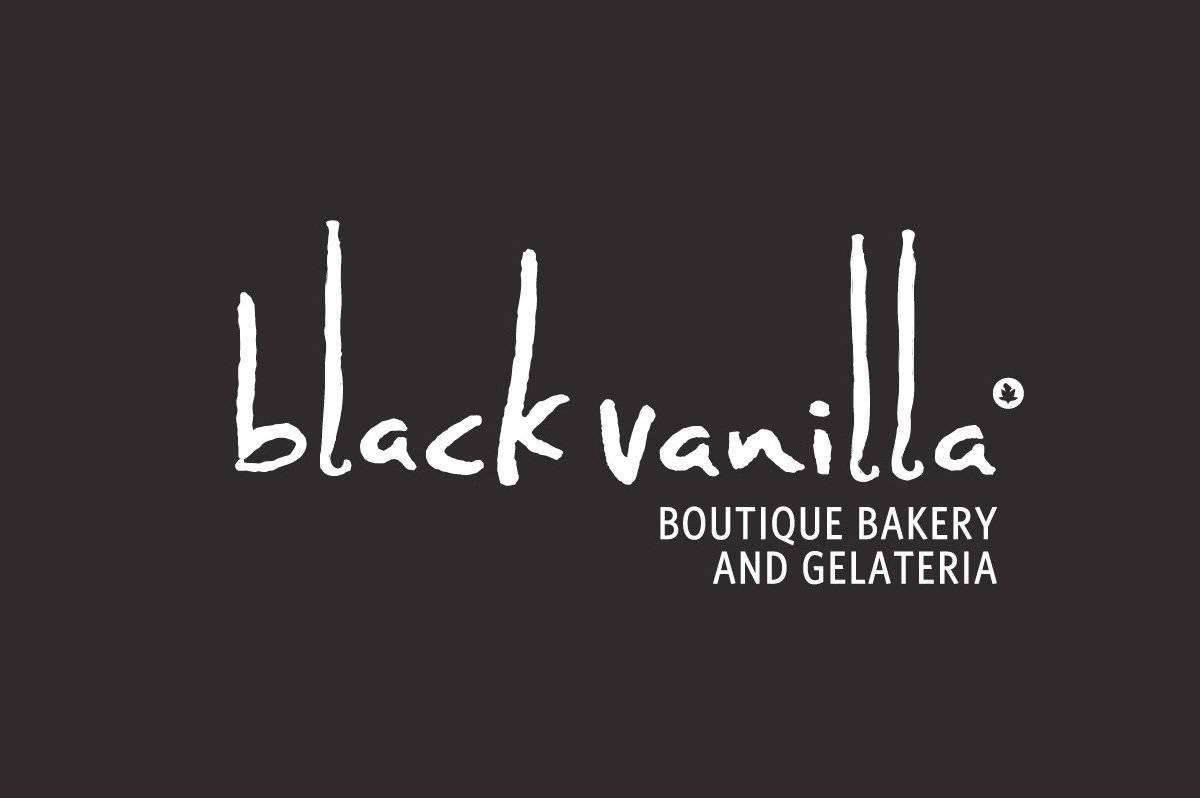 BlackVanilla logo and Brand identity-designed by The Logo Smith