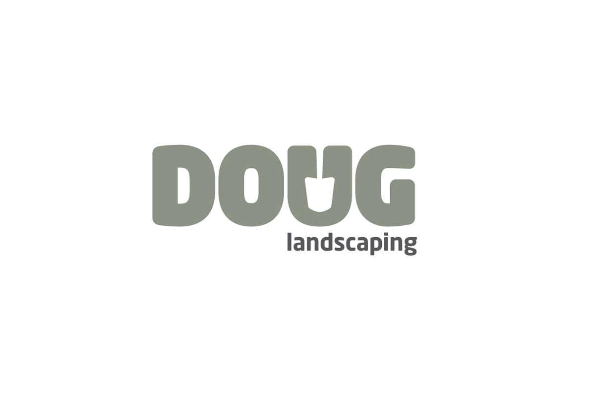 Doug-Landscaping-logo-designed-by-Graham-Smith