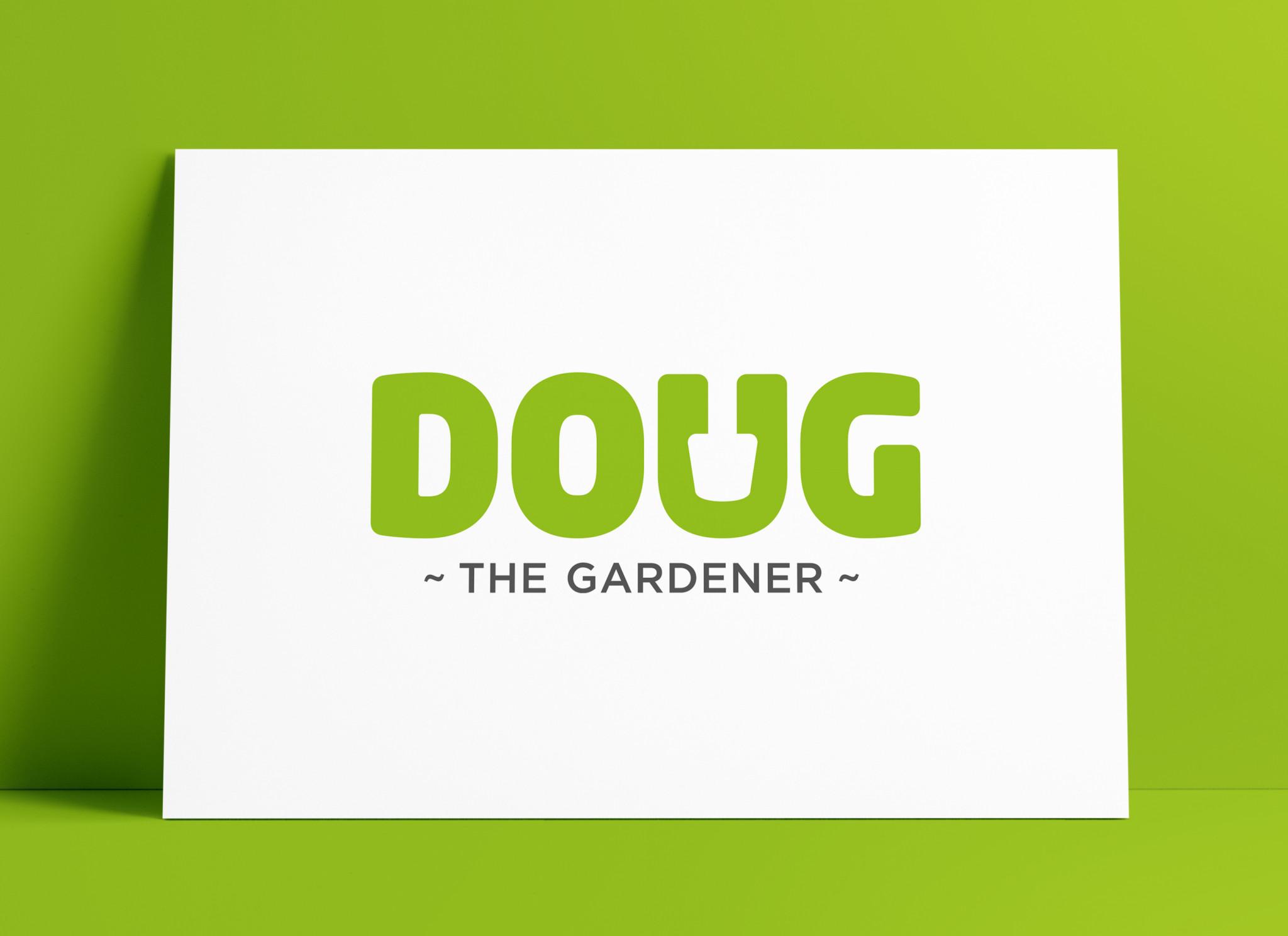 Doug the Gardener Logo Designed by The Logo Smith