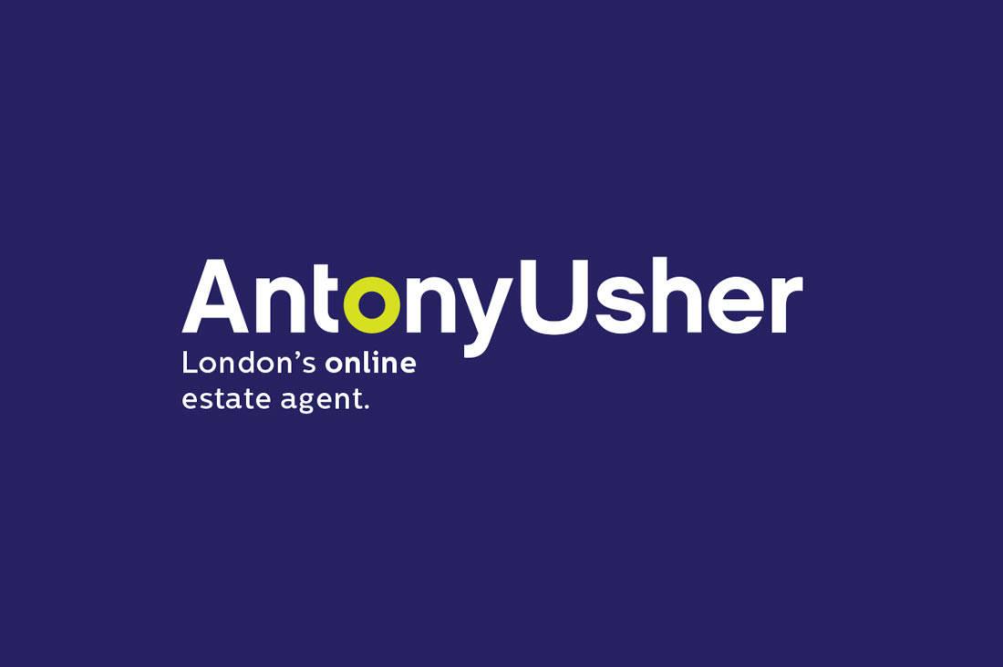 Estate-Agent-Logo-Design-For-Antony-Usher