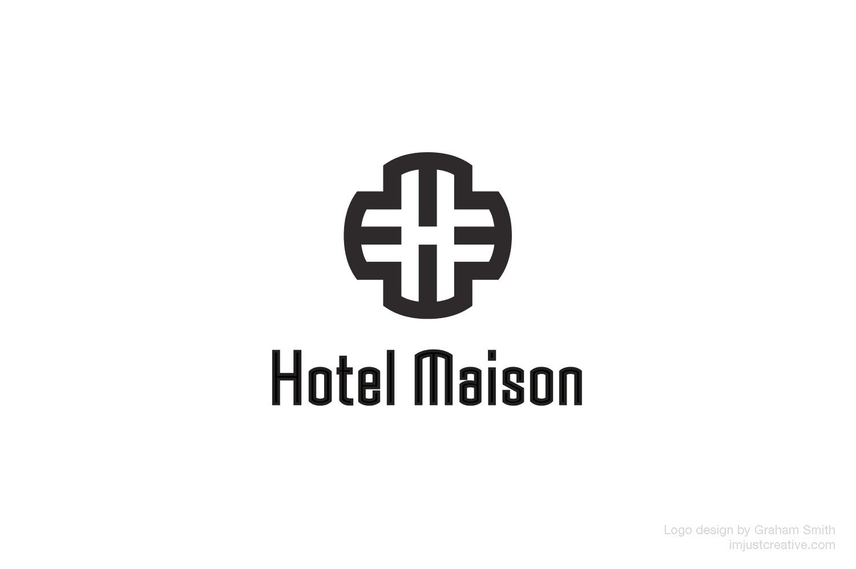 Hotel Maison logo design by imjustcreative