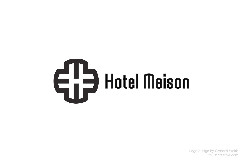 Hotel Maison logo designed by imjustcreative