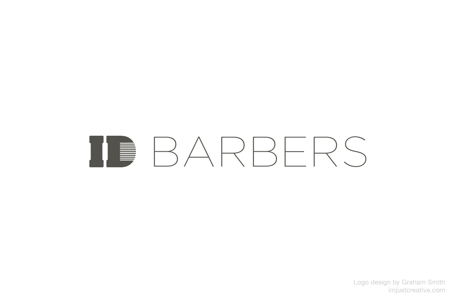 ID Barbers Logo Design 1 by Graham Smith