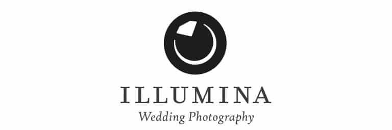 Illumina Wedding Photography Logo Designed by Freelance Logo Designer The Logo Smith