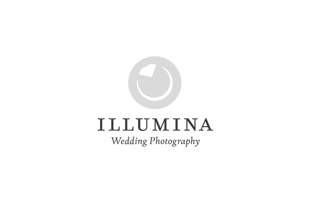 Illumina Wedding Photography Logo Designed by Freelance Logo Designer The Logo Smith