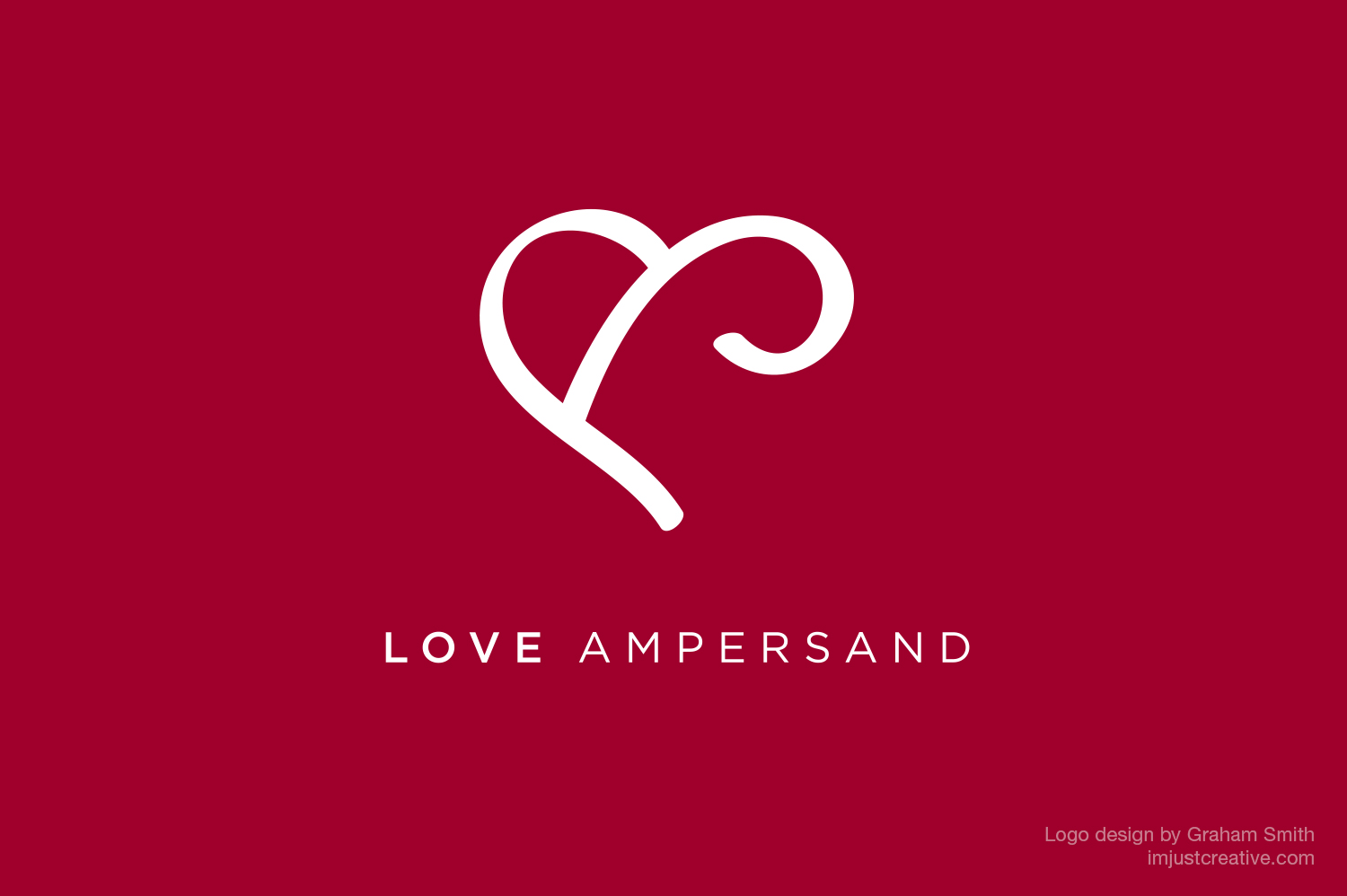 Love Ampersand Logo Design by imjustcreative