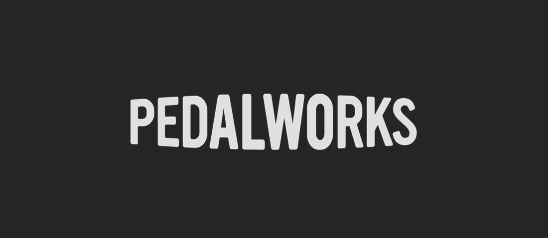 Pedal Works Bike Shop Logo & Brand Identity Designed The Logo Smith