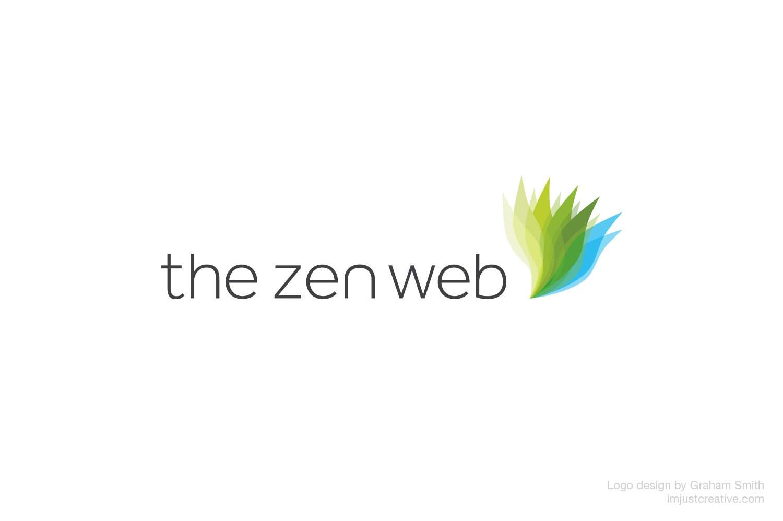 The Zen Web logo design by graham smith