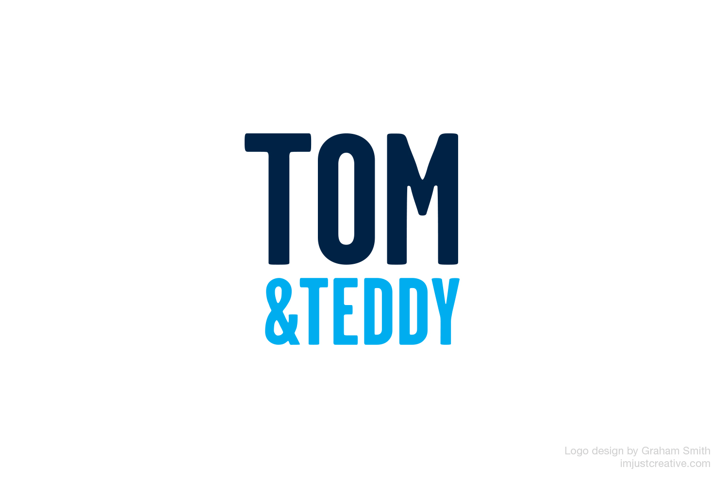 TomandTeddy logo design by imjustcreative