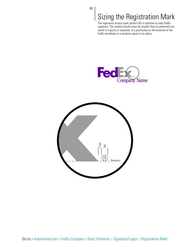fedex brand identity quick reference guide