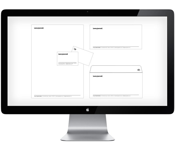 laverypennell stationery design