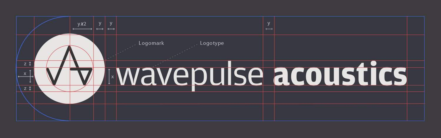 wavepulse acoustics logo guidelines