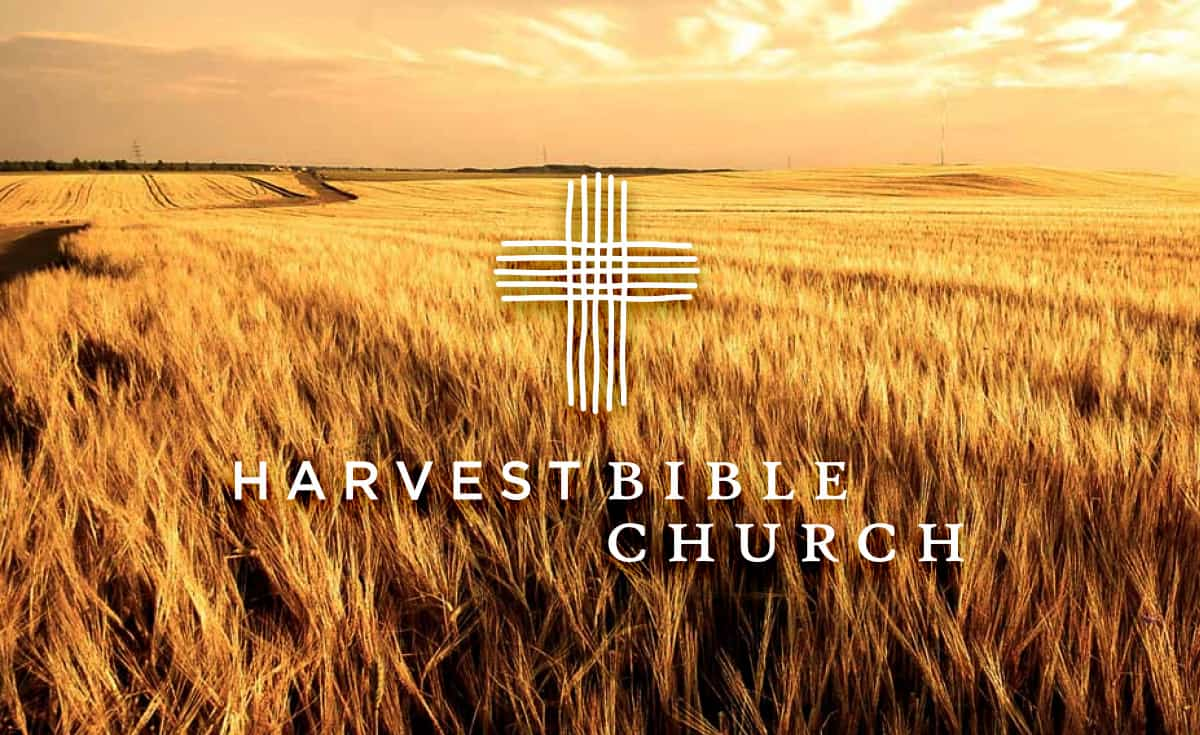 Harvest Bible Church Logo Designed by Freelance Logo Designer The Logo Smith.