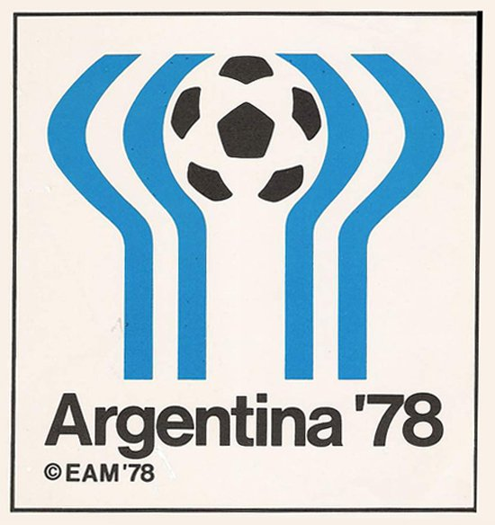 argentina 1978 world cup logo design