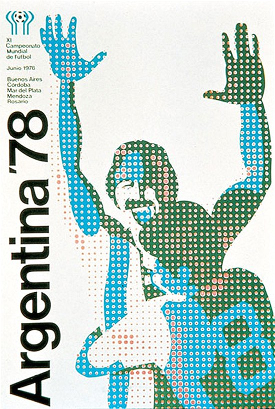 argentina 1978 world cup poster design