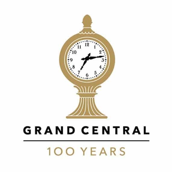 Grand Central Station Anniversary Logo